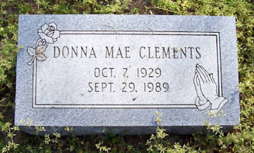 Photo: Clements, Donna Mae