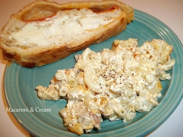 Serve as a side to meat entree or as I did, with adding chicken.  Note:...