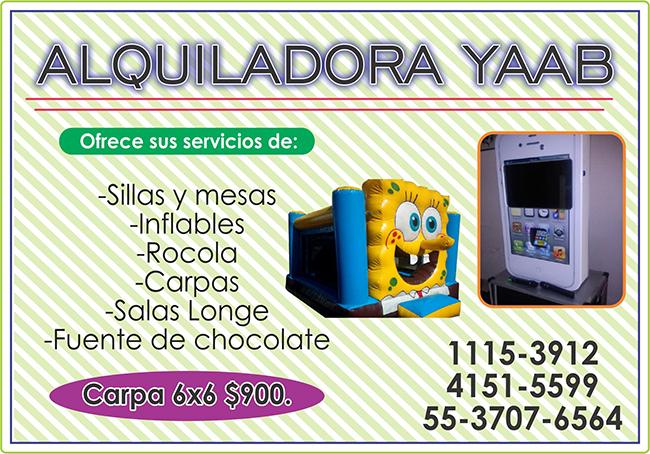 ALQUILADORA YAAB
