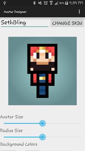 Avatar Designer for Minecraft