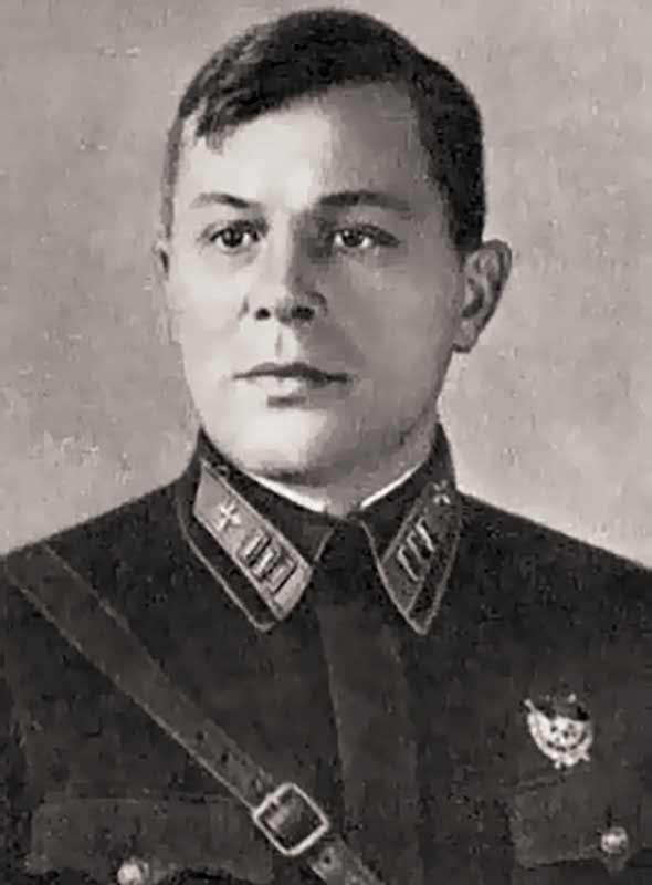 Малышев М.И. - нач-к авто-бронетанкового отдела 20А