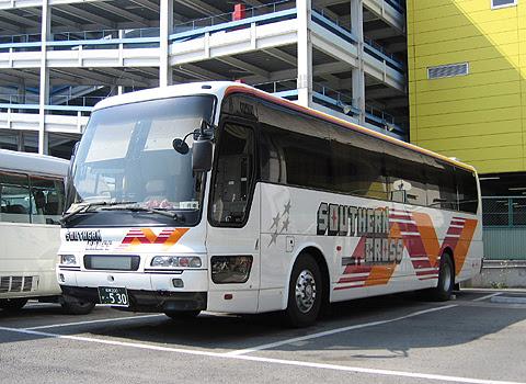 南海バス「サザンクロス」長野線 ・530