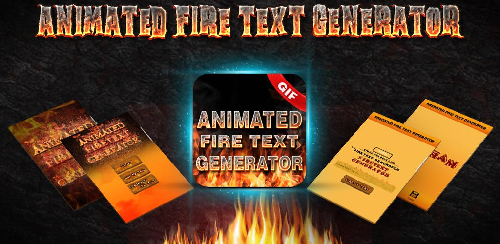 Download Animated Fire Text Generator : Flaming Text APK latest