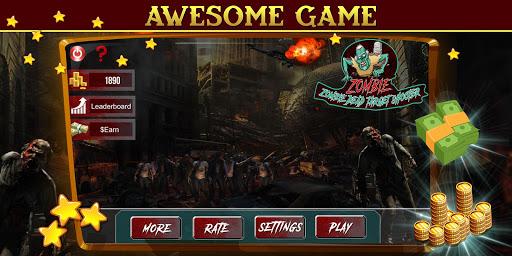Télécharger Gratuit Zombie Dead Target- Make Money Free APK MOD (Astuce) screenshots 1