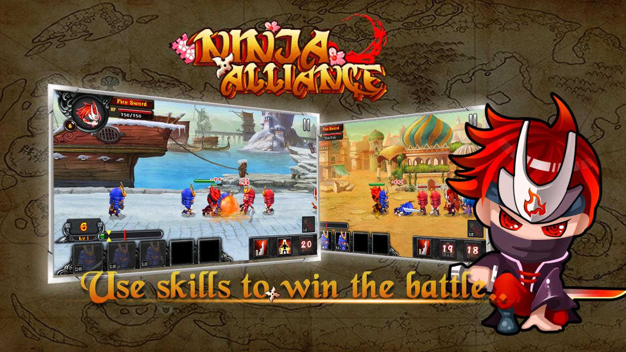 Ninja Alliance – Capture d'écran