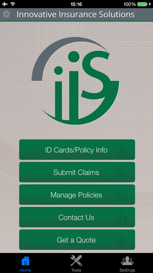 Innovative Insurance Solutions- screenshot