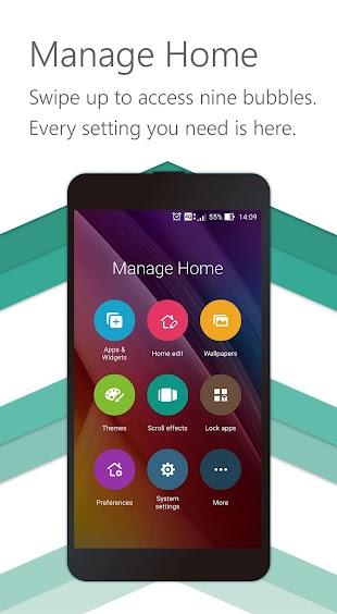 ZenUI Launcher – Fast & Smart- screenshot thumbnail
