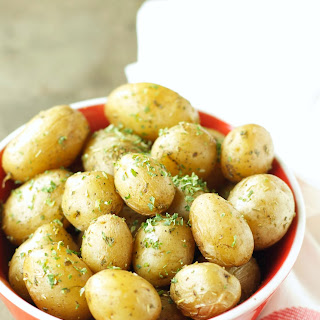 Crockpot Herbed Baby Potatoes