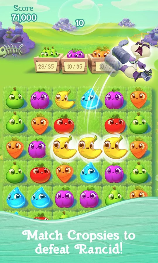 Screenshots of Farm Heroes Super Saga for iPhone