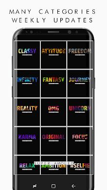 True BLACK AMOLED 4K PRO Wallpapers (2960x1440) screenshot 10