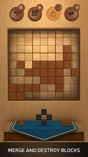Wood SudoBlocks 3D - A Better Classic Wood Puzzle android2mod screenshots 1