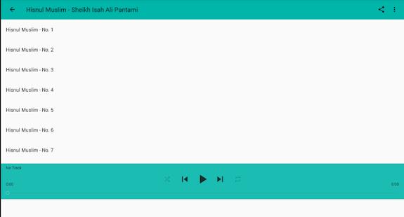 Ali Pantami -Hisnul Muslim Mp3 - náhled