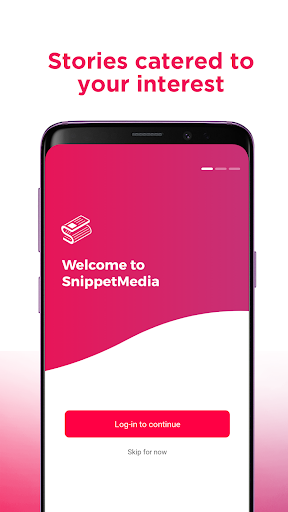 SnippetMedia Lite - News & Earn Real Cash! 1.2.9 screenshots 1