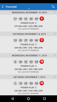 Screenshot of Lotto Results - Lottery Games