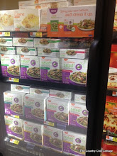 Photo: I actually found the Lean Cuisine Salad Additions on the end cap of the freezer aisle.
