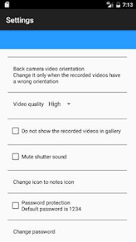 spy video recording camera