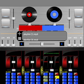 Virtual DJ Mixer Player