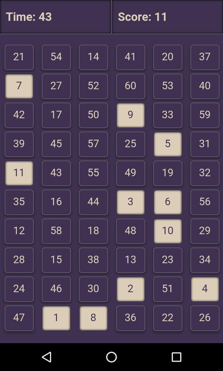 Скриншот Fast 60