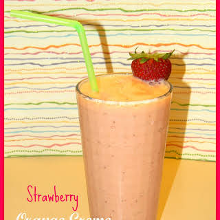 Strawberry Orange Creme Smoothie.