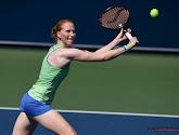 Alison Van Uytvanck verloor in twee sets van Petra Martic