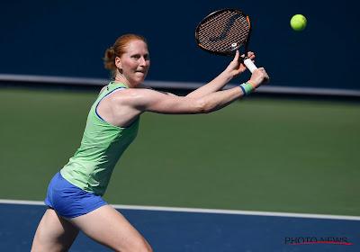 Mindere dag voor de Belgische tennissters: ook Alison Van Uytvanck gaat eruit in de eerste ronde in Palermo
