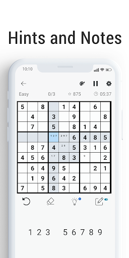 Sudoku - Free Brain Training Puzzle screenshot 2
