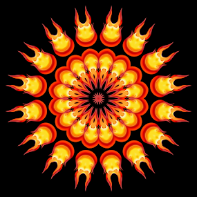 Flames 16 by Dominic Jacob - Illustration Abstract & Patterns ( abstract, flames, abstract art, digital art, digital, flame )
