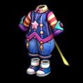 紫のメータの服A