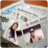 NewsPaper Photo Frames HD