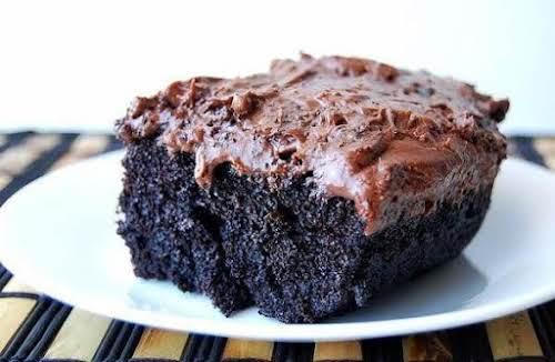 "Black Magic Cake (Best Chocolate Cake Ever!) ""I have made this cake..."