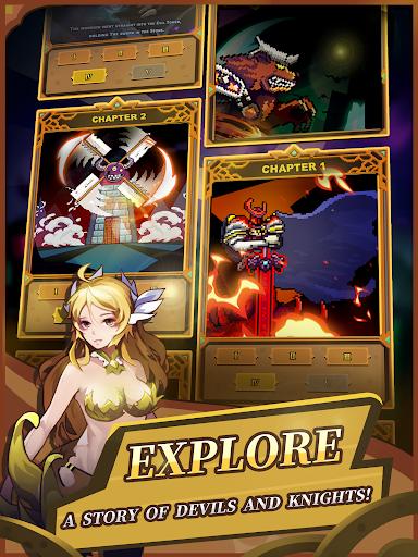 Screenshot for Infinite Knights - Turn-Based RPG in Hong Kong Play Store