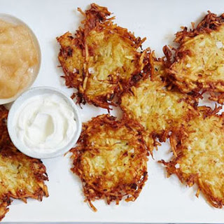 The Crispiest Potato Latkes Ever