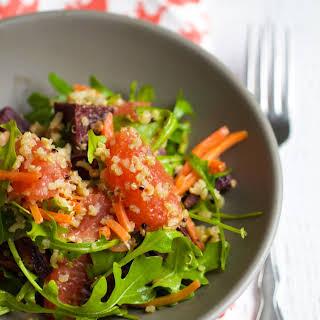 Quinoa Citrus Salad.