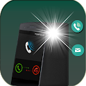 Flash Blinking Alerts : Call & SMS icon