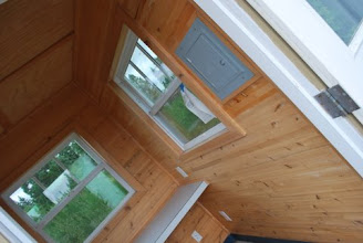 Photo: This Cedar Tiny House makes an excellent insulated office space.