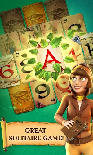12 Pyramid Solitaire Saga App screenshot