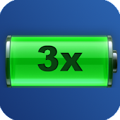 3x - 4x Battery life extension