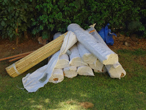 Photo: 11 rolls of bamboo buddy are on stand by