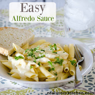 Easy Alfredo Sauce Without Cream Cheese Recipes.