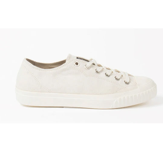 Sneaky Steve Swing Low Canvas Dam Off white storlek 38