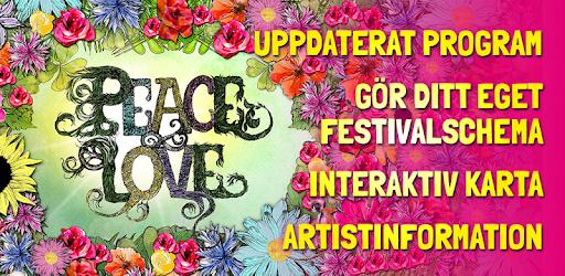 interaktiv karta Peace & Love Festival   Apps on Google Play interaktiv karta