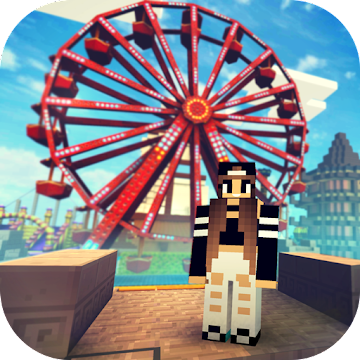 Theme Park Craft 2: Build & Ride Roller Coaster