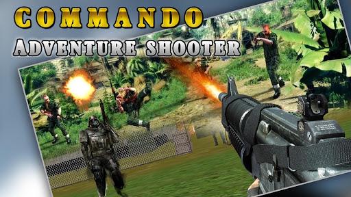 コマンドー シューター戦争バトル; Commando War