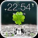 Galaxy rainy lockscreen icon