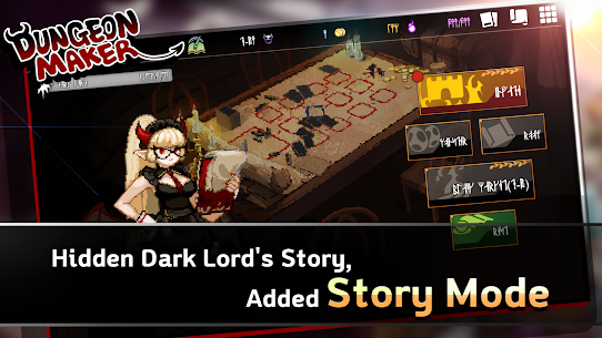 Dungeon Maker MOD (Unlimited Money/Hero Skills) 2
