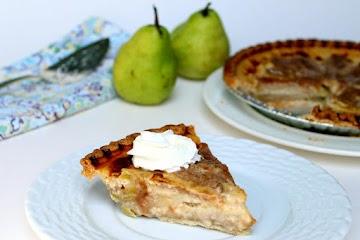Pear Custard Pie Recipe