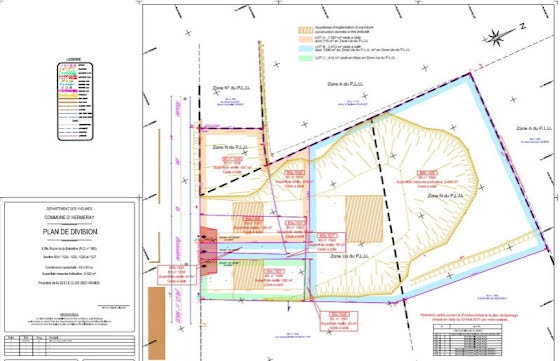 Vente terrain à bâtir 1027 m2