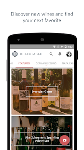 Delectable Wine - Scan & Rate - screenshot thumbnail