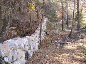 Photo: I nostri muri a secco risistemati in azienda