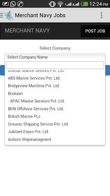 Merchant Navy Jobs - screenshot